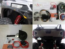 Street Legal Kit 16-18 Polaris General 1000 or RZR 1000 Turn Signals Horn Plate