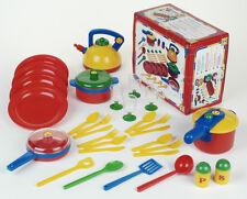 Töpfe und Geschirr für Kinderküche CASA MIA SET groß, 31 Teile - Theo Klein 9194