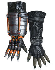 Scarecrow Gloves, Mens Batman Arkham Zeppelin Costume Gloves