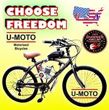 "48cc 49cc 50cc 66cc 80cc 2-Stroke Motorized Bike Kit And 29"" Cruiser Bike"