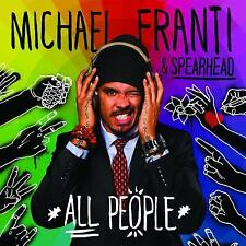 Michael Franti & Spearhead ‎– All People CD Capitol Records 2013 NEW