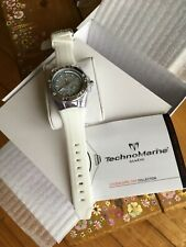 BEAUTIFUL BRAND NEW WITH TAGS TECHNOMARINE CRUISE SPORT 'SILVER SNOWFLAKE' WATCH