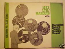 1983  LTD/Marquis Electrical and Vacuum Manual