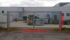 Industrietor verzinkt 500x200cm Einfahrtstor 2-flügelig Gartentor Hoftor Tor $P