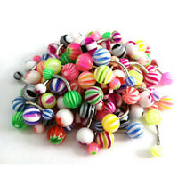 New 50Pcs/Set Ball Belly Button Ring Navel Rings Bar Body Piercing Jewelry Hot