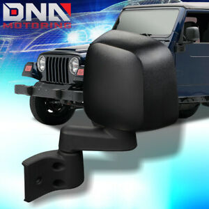 FOR 2003-2006 JEEP WRANGLER TJ MANUAL DRIVER LEFT SIDE DOOR MIRROR CH1320259