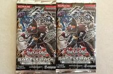 2x Lot YuGiOh Battle Pack Epic Dawn 5-card Booster Pack English 1st Edition New