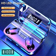 Auriculares Inalámbricos Bluetooth 5.0 Auriculares Auriculares intraurales Mini Impermeable TWS