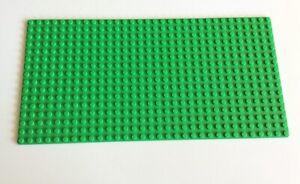 26 # Lego - Bauplatte Grundplatte 16x32 grün hellgrün (3857)