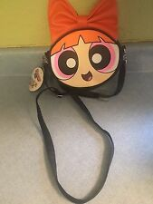 New Cartoon Network THE POWERPUFF GIRLS BLOSSOM CROSSBODY BAG Handbag Purse Tote