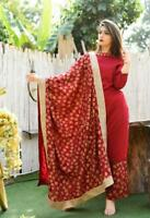 Indian Kurta Kurti With Palazzo Dress Women Kurta Top Tunic Set Combo Ethnic S
