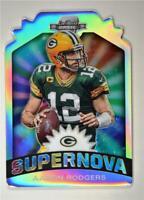2019 Contenders Optic Supernova Die-Cuts #S-AR Aaron Rodgers - Green Bay Packers