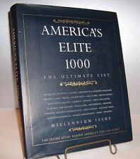 America's Elite 1000:The Ultimate List (note card signed by Editor Trevor White)