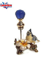 Beautiful Ladies Vintage Style Bird Glass Perfume Bottle Container Decor Gift