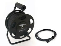 250' PhantomCat Shielded Tactical Cat5 Cat6 Cable on Reel - Ethercon Compatible
