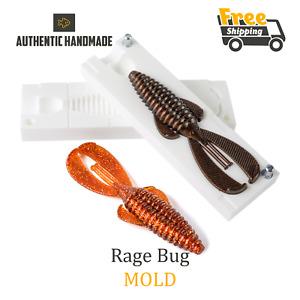 🔥 Rage Bug Fishing Craw Mold Lure Bait Soft Plastic 102 mm