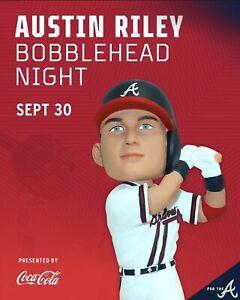 Austin Riley Bobblehead Atlanta Braves SGA 9/30/21