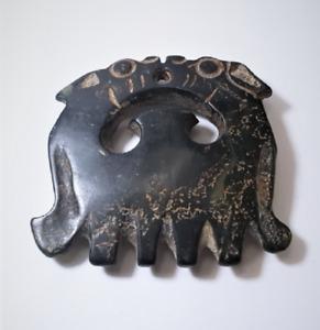 Ancient Chinese Guo Yun Pei Magnetic Jade *Cloud* Pendant