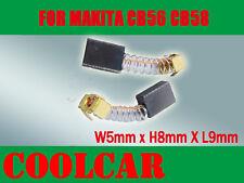 Carbon Brushes For Makita CB56 CB58 5X8X9mm HP1030 HP1310 9035N  6801DB 9504B OZ