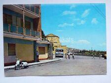 CALATAFIMI BUS Autobus Vespa Piaggio Belvedere Trapani vecchia cartolina