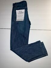 PD&C Paper Denim Cloth Men's Slim Tapered Jeans NWT 34x32 New with Tags Searle