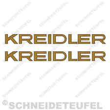 Kreidler florett insignia RS, RM pegatinas set - 10003