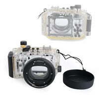 Meikon 40M 130ft Waterproof Underwater Housing Case For Canon Powershot S95
