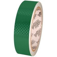 Tape Planet Green Carbon Fiber 1 inch x 10  yards Metalized PVC Tape