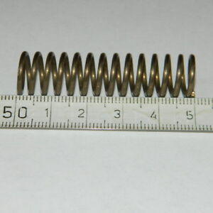 1Stk Gelb Feder Druckfedern Außendurchmesser=25mm Länge=25-300mm Federstahl NEU