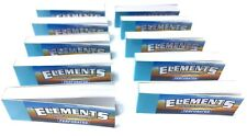ELEMENTS PERFORATED ROLLING PAPER FILTER TIPS 10 Packsx50 =500 Tips