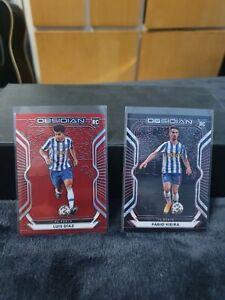 Panini Obsidian Soccer 2020-21 T-mall Porto FC Rookie Bundle Both /28