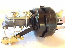 "1960-66 Chevy C10 C20 9"" dual brake booster master cylinder disc drum valve"