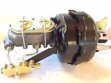 "1960-66 Chevy C10 C20 9"" dual brake booster master cylinder disc drum valve"