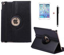 Case f Apple iPad Air 2 360° Schutzhülle Tasche Leder-Imitat Etui schwarz