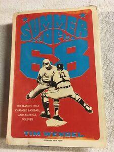 1968 Detroit Tigers Book Lot Of 2