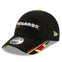 New Era Ryan Blaney Black Menards 9FORTY Snapback Adjustable Hat