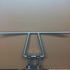 "Bobber Chopper Window Bars 1"" handlebars for 1"" risers. Harley Davidson"