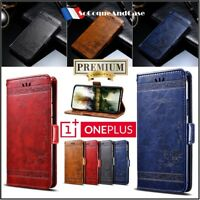 Etui Coque housse Premium Cuir PU Leather Flowers Wallet Case Cover OnePlus 6
