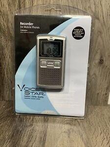 Voice Star VSR100 Mobile Phone Recorder RadioShack NO.17-3470 Sealed!