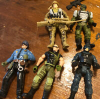 Chap Mei Military action figures Lot