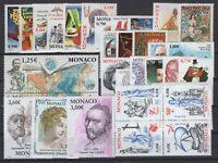 BD140878/ MONACO 2003 COMPLETE YEAR – Y&T # 2382 / 2417 MNH - CV 145 $