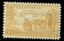 #997, 3¢ California Gold Rush Stamps Lot Of 400 Mint - Spice Up Your Mailings!