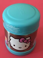 Thermos Funtainer 10 oz Hand Washing Wide Mouth Food Jar, Hot & Cold HELLO KITTY