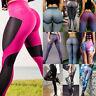 Women Yoga Pants Ladies Fitness Leggings Running Gym Exercise Sports Trousers US