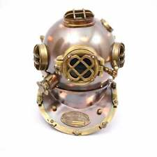 Vintage Diving Helmet ~ Marine Divers Scuba Boston Spot/surf Mark Antique Helmet
