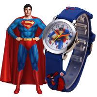 Kids Watch SuperMan Fashion Boys Watches Spider Man Wristwatch FREE SHIPPING