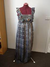 OJAY Silk Maxi Dress Size 12