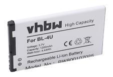 Akku wie Nokia BL-4U 1200mAh 3.7V Li-Ion