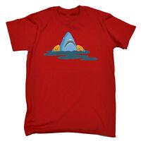 Shark Armbands MENS T-SHIRT tee birthday gift cartoon cute swimming funny