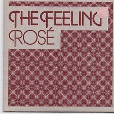 The Feeling-Rose promo cd single